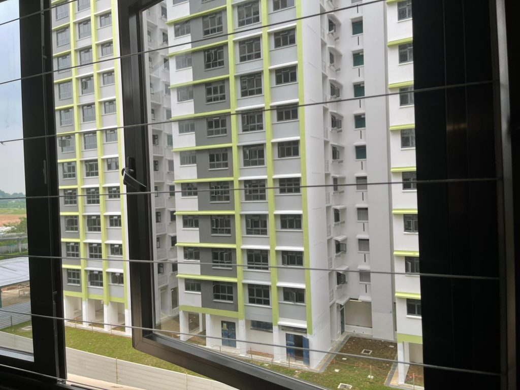 Invisible Grilles Installation For 4 Bedroom HDB